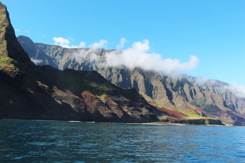 Napali Coast- Cathedral Rock Formations