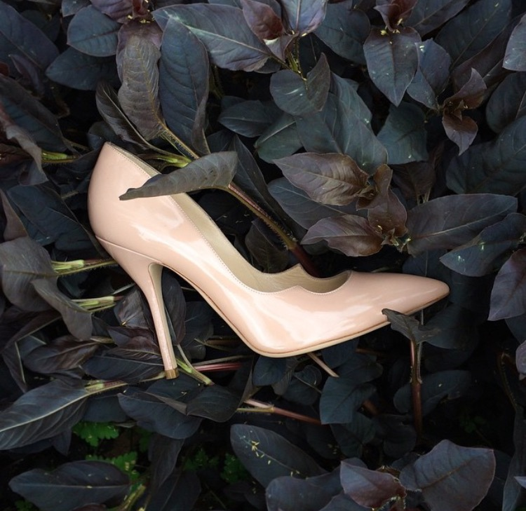 Paul Andrew's Zenadia Pump in Nude | TheLuxicon.co