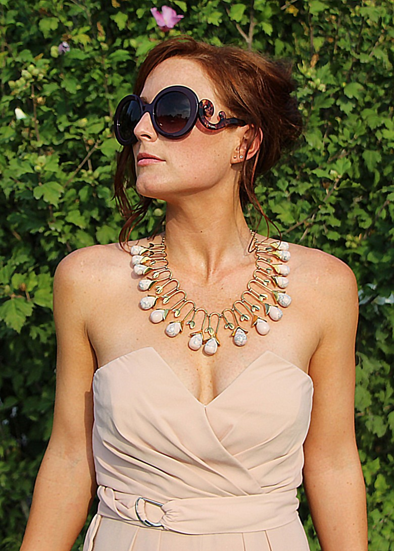 Lele Sadoughi Blooming Bud Necklace on Rent the Runway | TheLuxicon.co