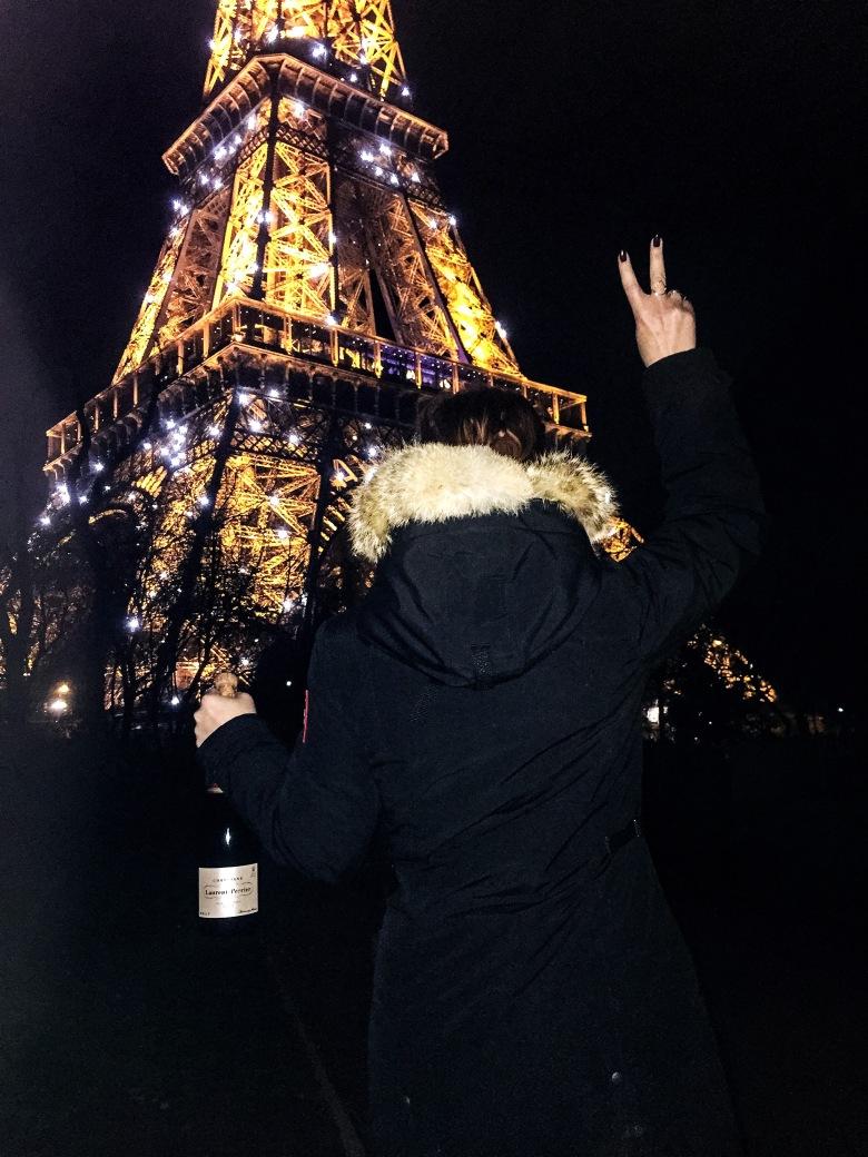 Au Revoir La Tour Eiffel