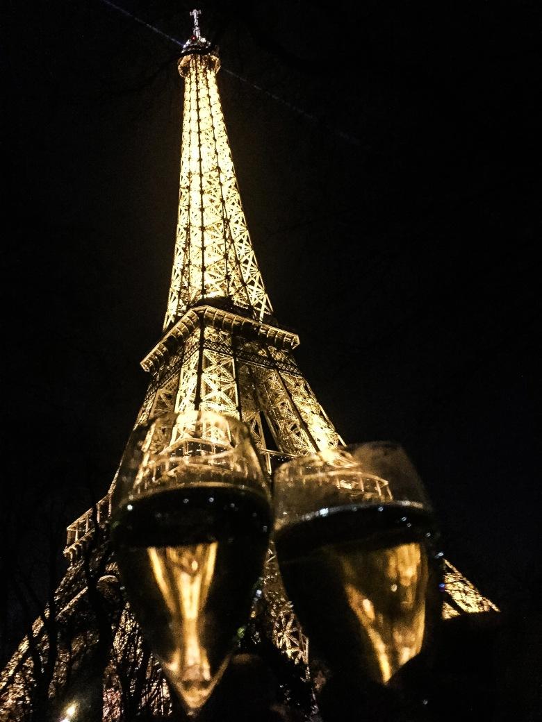 Cheers Eiffel Tower