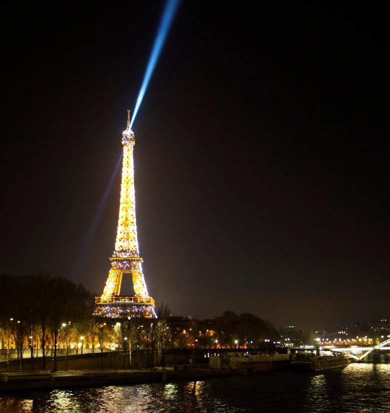 Eiffel Tower Shines