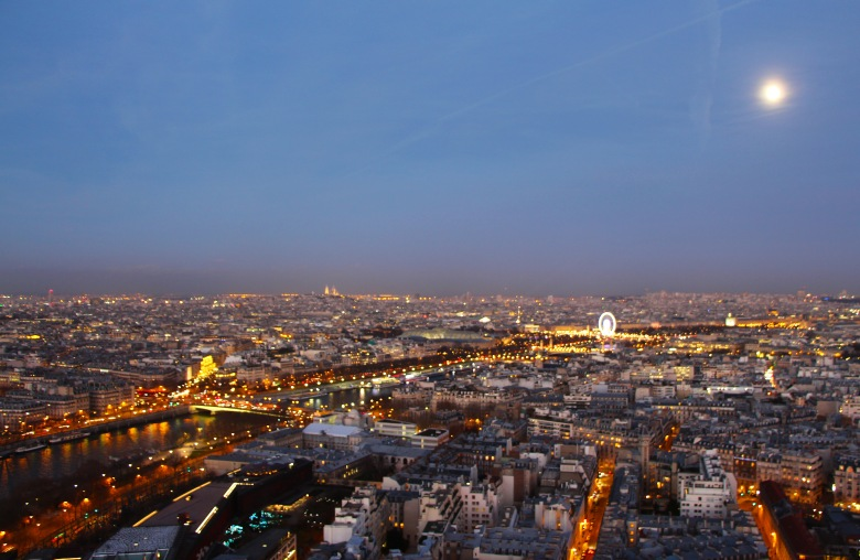 View From Atop the Eiffel Tower